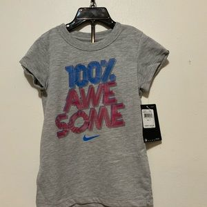 Nike Size 6 Girls T-shirt new with tags